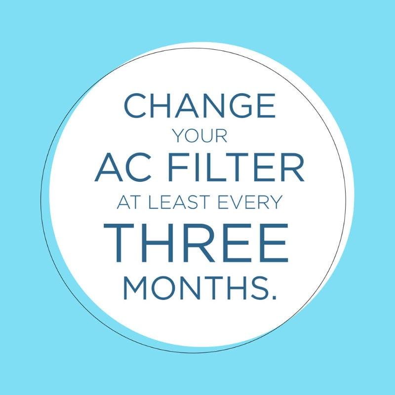 Change AC Filter