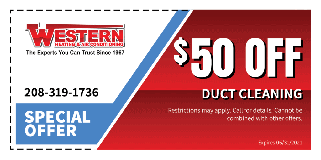 $50 off duct cleaning