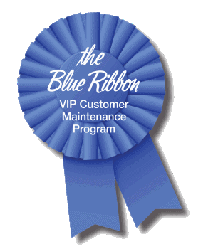 VIP Blue Ribbon Maintenance